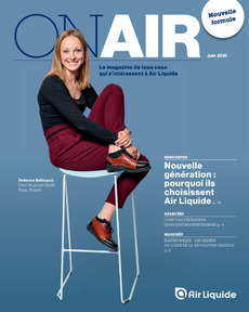"Couverture - ""On Air Magazine - Juin 2019"""