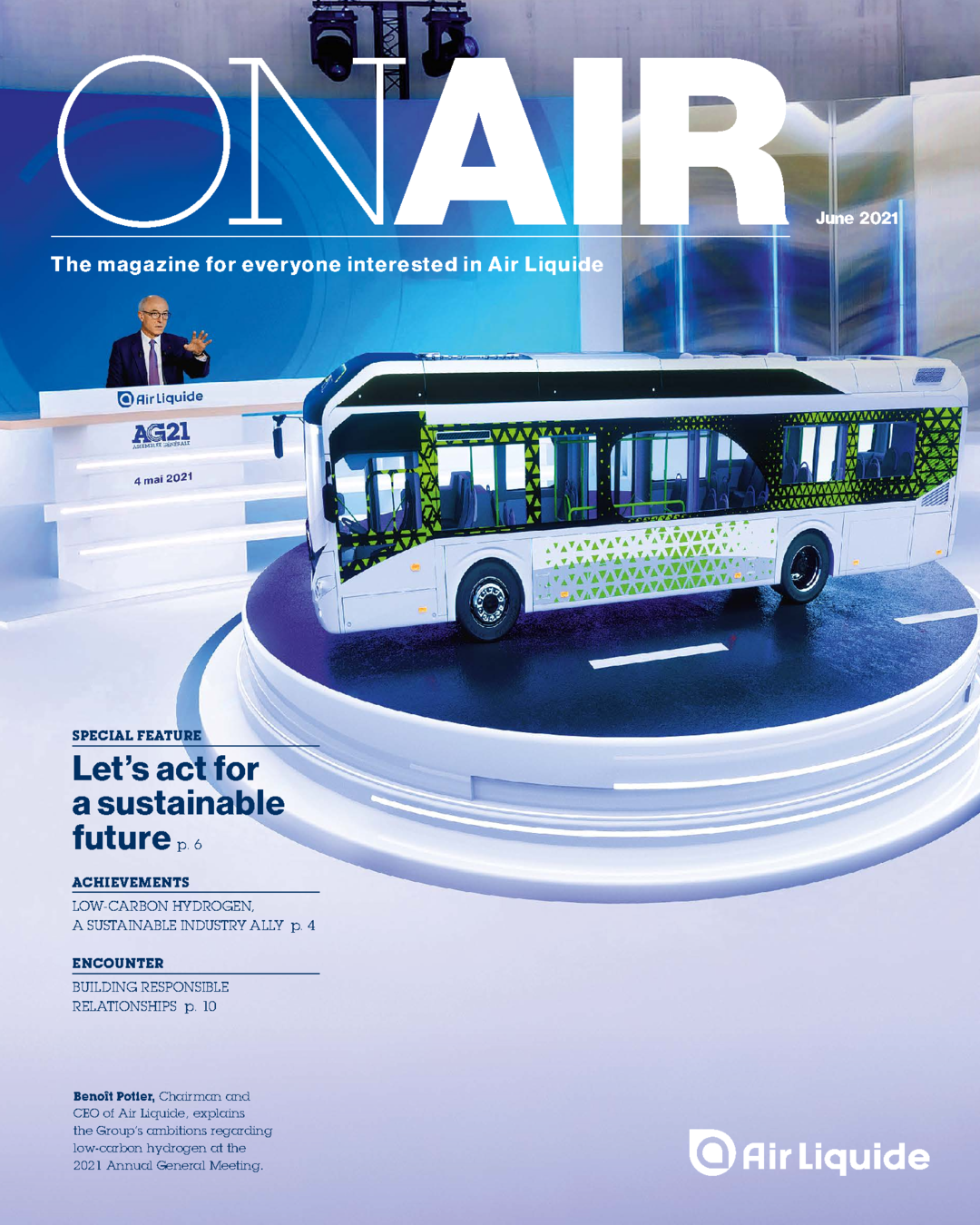 """Cover - """"On Air Magazine - June 2021"""""""