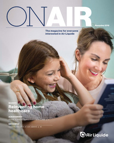 "Cover - ""ON AIR Magazine - November 2019"""